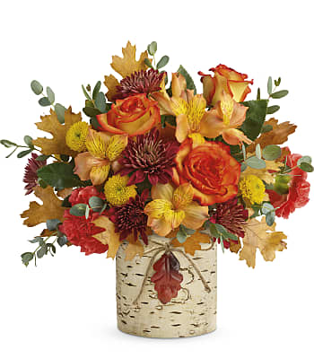 Teleflora's Autumn Colors Bouquet Flowers