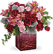 Teleflora's Ooh La Ombre Bouquet Flowers