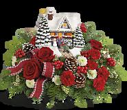 Thomas Kinkade's Hero's Welcome Bouquet