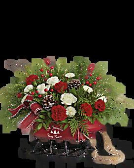 Teleflora's Sleigh Bells Bouquet Bouquet