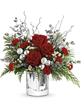 Teleflora's Wintry Wishes Bouquet Bouquet