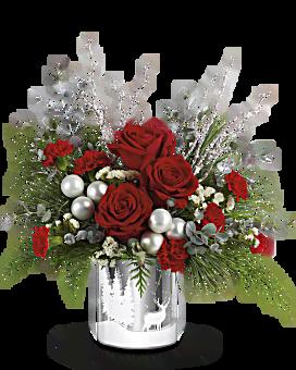 Souhaits hivernaux bouquet de de Teleflora