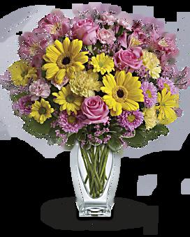 Bouquet Journée d'éclat de Teleflora
