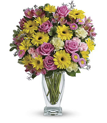 Teleflora's Dazzling Day Bouquet Flowers