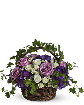 A Full Life Basket Arrangement