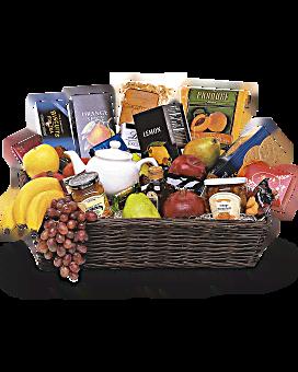 Grand panier cadeau de fruits gastronomiques