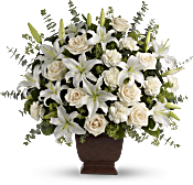 Teleflora's Loving Lilies and Roses Bouquet Flowers