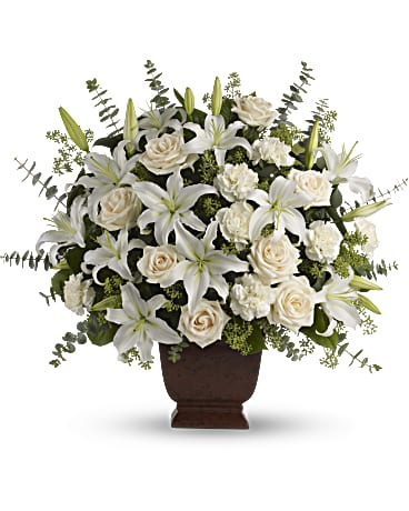 Teleflora\'s Loving Lilies and Roses Bouquet - Teleflora