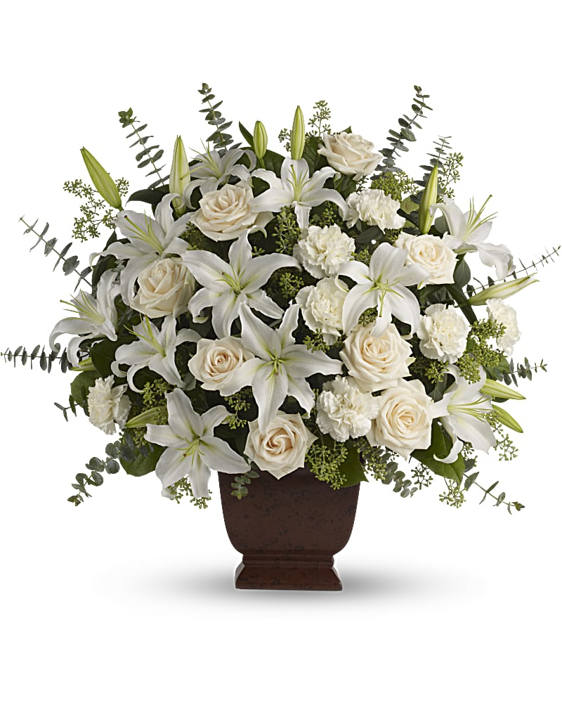 Teleflora S Loving Lilies And Roses Bouquet Teleflora