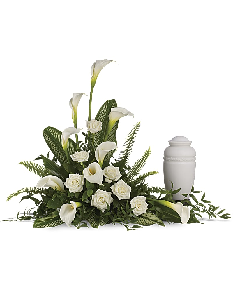 Stately Lilies Flower Arrangement Teleflora