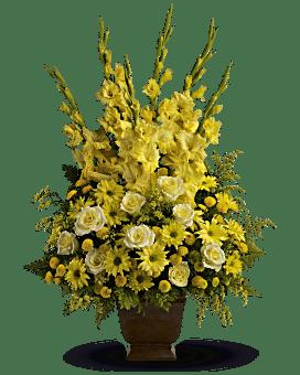 Teleflora's Sunny Memories Flower Arrangement