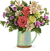 Teleflora's Pour on the Beauty Bouquet Flowers