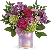 Teleflora's Lovely Lilac Bouquet Flowers