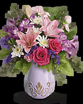 Teleflora's Lavishly Lavender Bouquet Bouquet