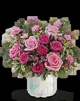 Teleflora's Gorgeous Glimmer Bouquet