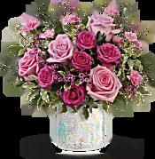 Teleflora's Gorgeous Glimmer Bouquet Flowers