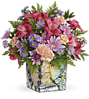 Teleflora's Sophisticated Whimsy Bouquet Flowers