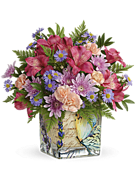 Teleflora's Sophisticated Whimsy Bouquet Bouquet