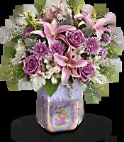 Teleflora's Stunning Swirls Bouquet Flowers
