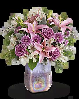 Teleflora's Stunning Swirls Bouquet Bouquet