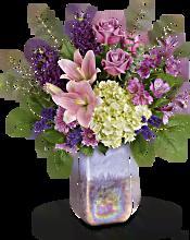 Teleflora's Purple Swirls Bouquet Flowers