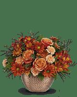 Teleflora's Copper Beauty Centerpiece