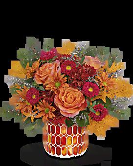Teleflora's Autumn Aglow Bouquet Bouquet