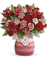Teleflora's Regal Pink Ruby Bouquet