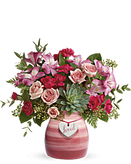 Teleflora's Cross My Heart Bouquet Bouquet