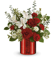 Teleflora's Crimson Crush Bouquet
