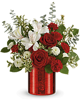Teleflora's Crimson Crush Bouquet Bouquet