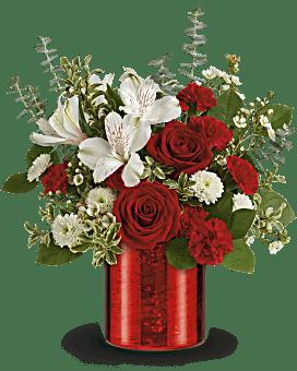 Bouquet Béguin empourpré de Teleflora