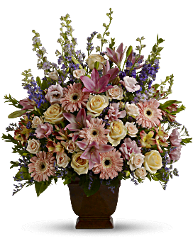 Teleflora's Loving Grace Flower Arrangement