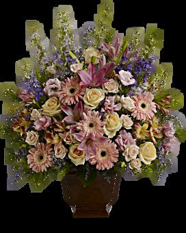 Teleflora's Loving Grace Flower Arrangement