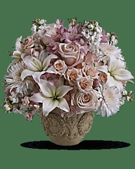 Arrangement floral Jardin de souvenirs de Teleflora