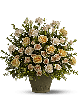Teleflora's Rose Remembrance Flower Arrangement
