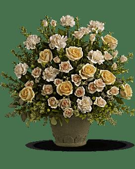 Souvenir fleur arrangement floral de de Teleflora Rose