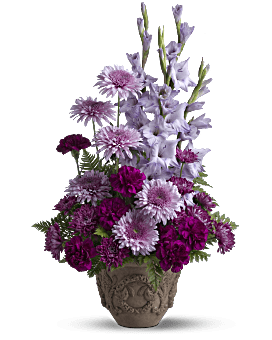 Teleflora's Heartfelt Memories Flower Arrangement