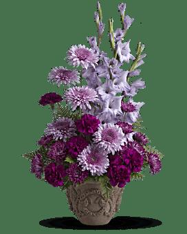 Teleflora's Heartfelt Memories Flower Arrangement