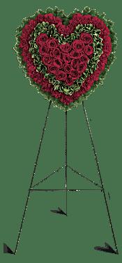 Majestic Heart Flowers