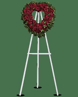 Blessed Heart Sympathy Arrangement
