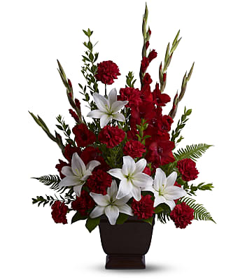 Teleflora's Tender Tribute Flowers
