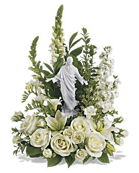 Teleflora's Garden of Serenity Bouquet Flower Arrangement