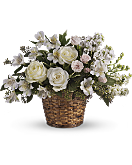 Love S Journey Basket Arrangement Teleflora