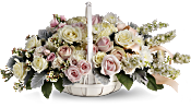 Dawn of Remembrance Basket Flowers