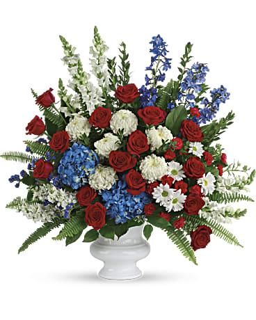 With Distinction Flower Arrangement