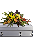 Island Memories Casket Spray Flowers