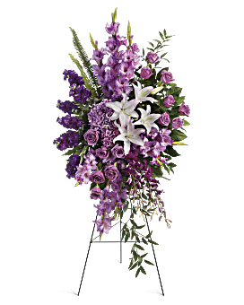 Sacred Garden Spray Sympathy Arrangement