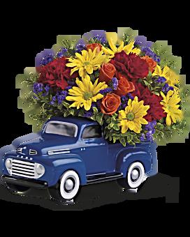 Arrangement floral Bouquet Ford classique 48 de Teleflora