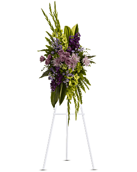 The Endless Sky Spray Sympathy Arrangement